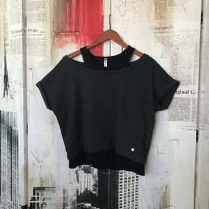 Fabletics layered top